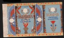 old cigarette packet Egyptian Cigarette Paradhes Art deco